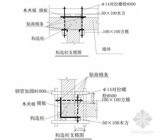 [贵州]框架剪力墙会议展览中心砌体工程施工专项方案(中建)