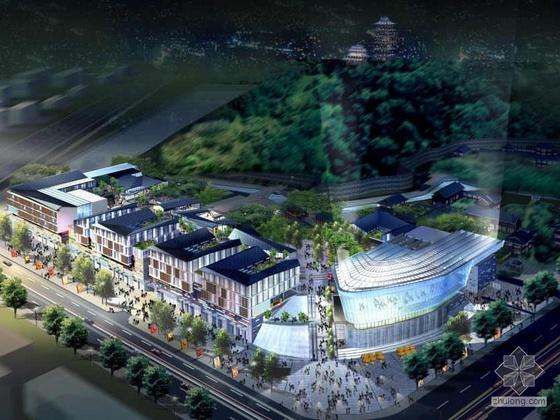 [南京]某大型商业项目规划及建筑方案文本
