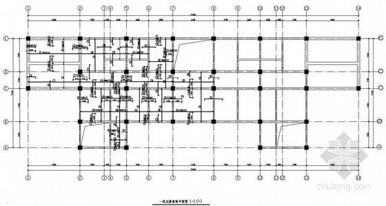 [学士]六层框架办公楼毕业设计(含计算书,建筑结构图)