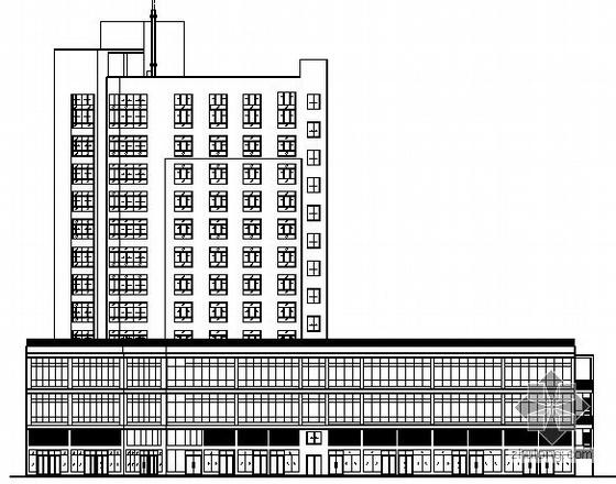 [株洲市石峰区]某十二层酒店式公寓用房建筑施工图