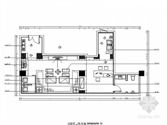 [北京]豪华KTV包厢装修设计施工图