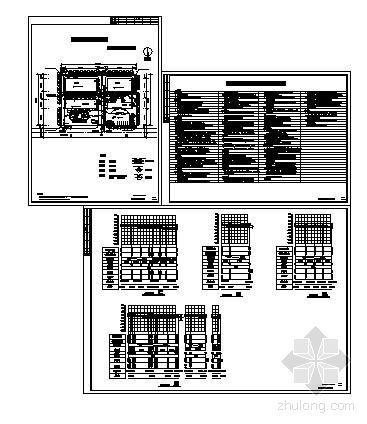 某厂区室外给排水设计图