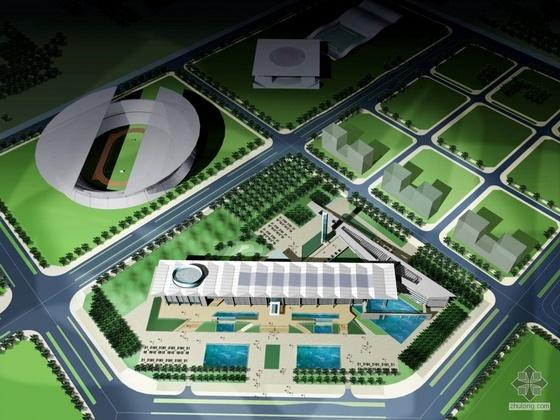 [宝安区]某政府行政中心规划及建筑方案文本(JPG+CAD)
