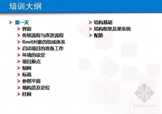 Autodesk Revit2013培训课程