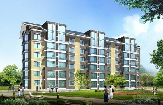 [毕业设计]3层砖混住宅楼土建装饰工程商务投标书(含工程量计算)
