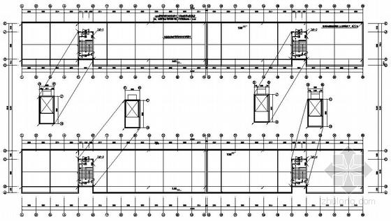 温州某高级中学六层学生宿舍楼电气施工图
