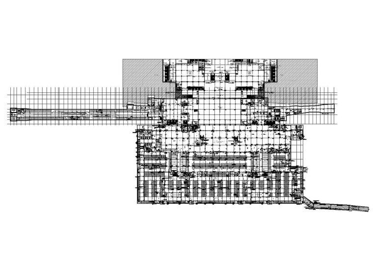 [广西]综合交通枢纽地下空间给排水消防人防全套施工图