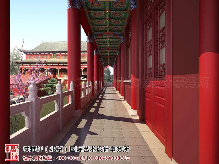 古典的泊莲禅寺寺院中式装修效果图案例_2