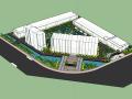 现代工厂整套完整模型设计