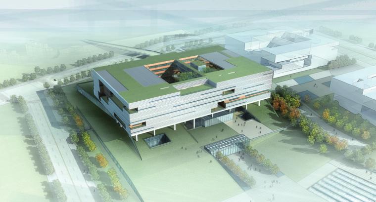 光明高新园区公共服务平台建筑方案设计文本
