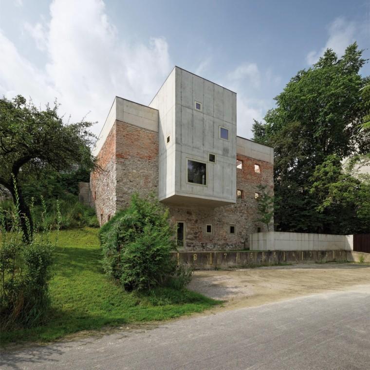 花园式的独立住宅案例(奥地利)