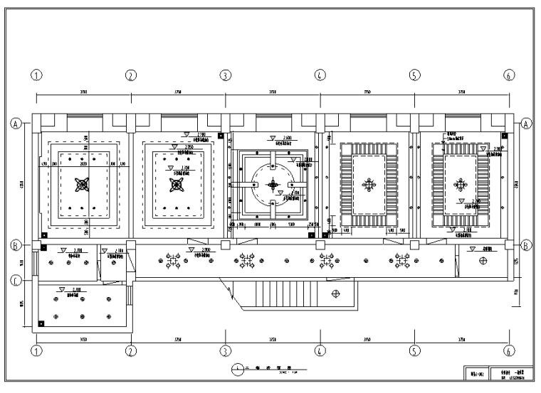 菜根香川菜馆室内装修设计方案施工图纸(19张)