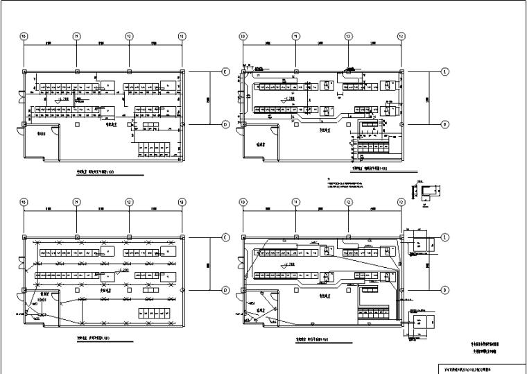 医护综合楼工程变配电所设计图纸_5