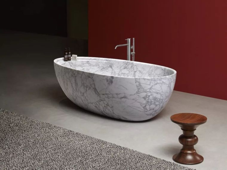 怎样用大理石,黄铜,水磨石设计家具?