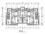济南中海小区住宅楼su模型+cad平面图+效果图(29张)