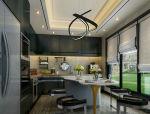 美式风格厨房餐厅3D模型