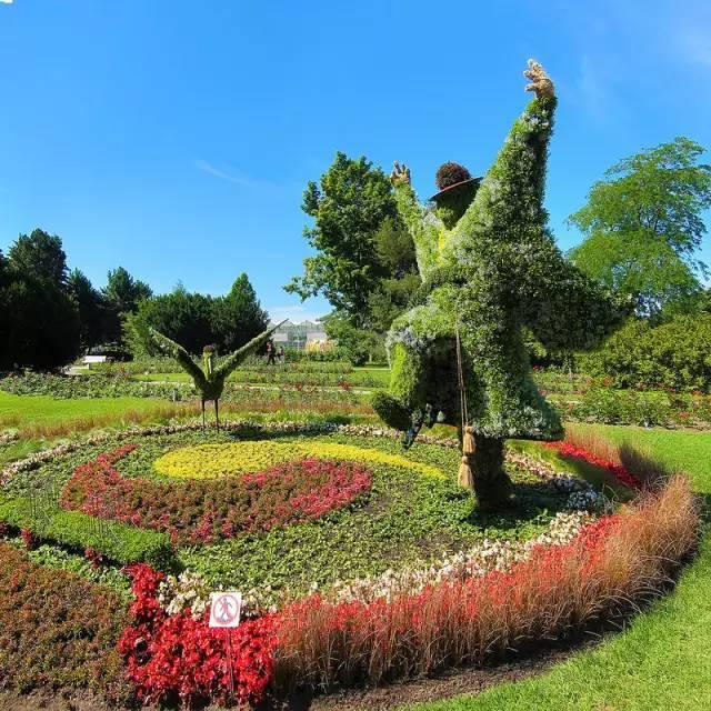 80个极美植物雕塑_11