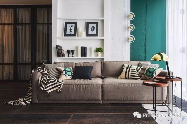色彩灵动的北欧简约公寓,无可挑剔的美_2