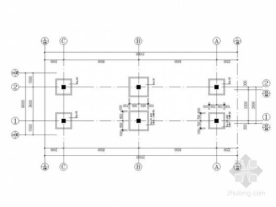 [湖南]地上四层框架结构连廊结构施工图