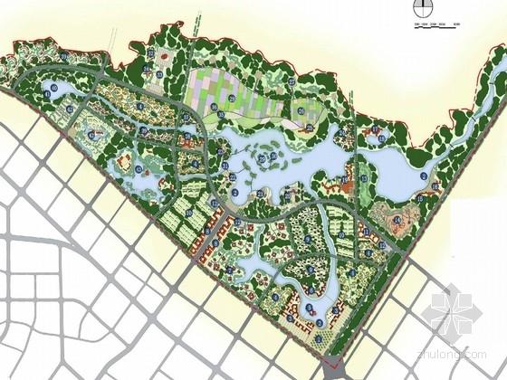 [成都]新乡村主义生态湿地旅游度假区景观规划设计方案