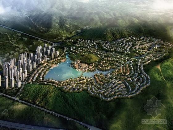 [广东]大型英伦风格住宅区规划及单体设计方案文本