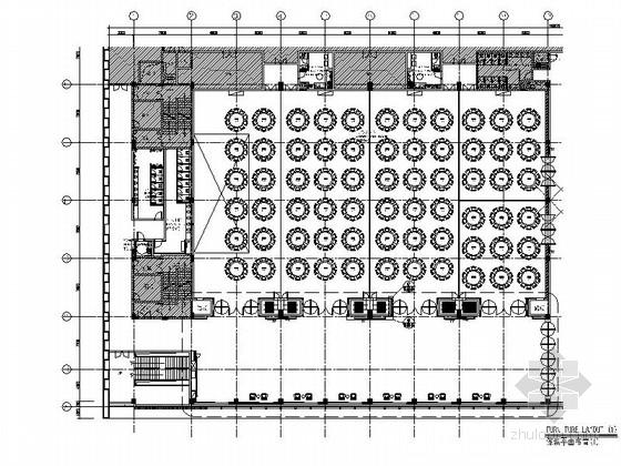 [惠州]高档奢华五星级酒店宴会厅装修施工图(含效果)
