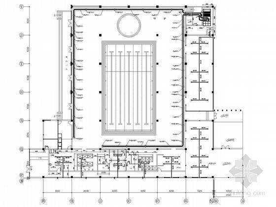 [贵州]游泳池水处理流程图纸