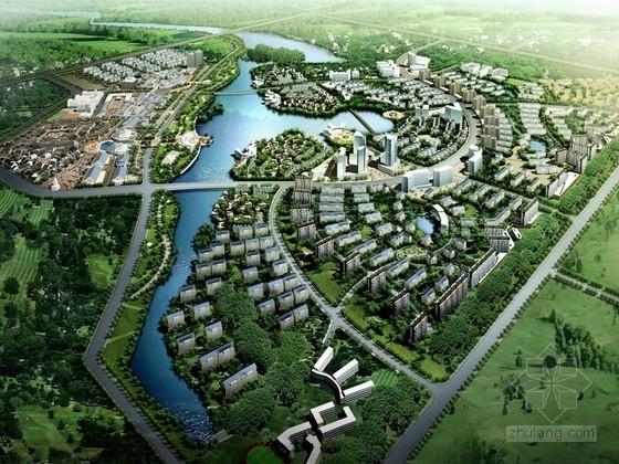 [锡林浩特]草原生态商业居住区域景观规划设计方案