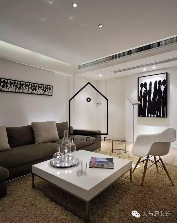 室内设计--黑白简约主义_7
