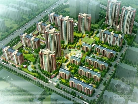 [山西]现代风格高层安置区规划设计方案文本
