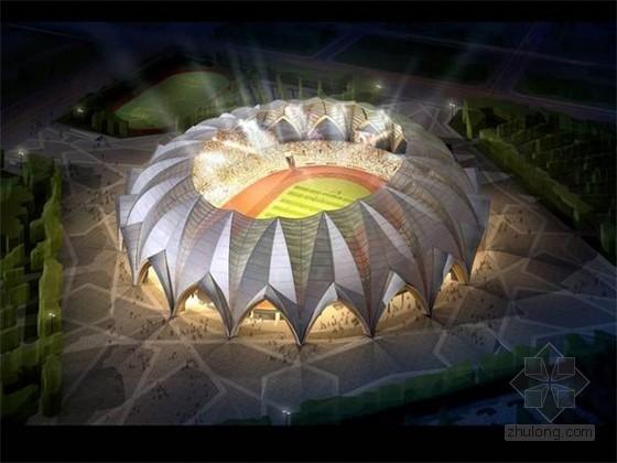 [宁夏]大型钢结构体育场施工组织设计(管桁架体系 多图)
