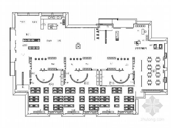 [新疆]维吾尔自治区清新现代风格幼儿园CAD装修施工图(含效果)