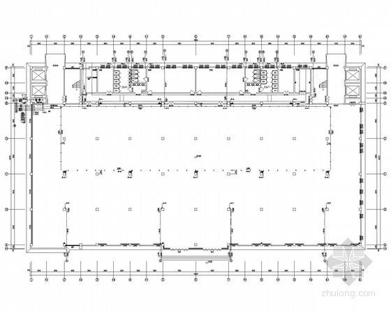 [江苏]耐火一级厂房给排水消防施工图(消防炮)