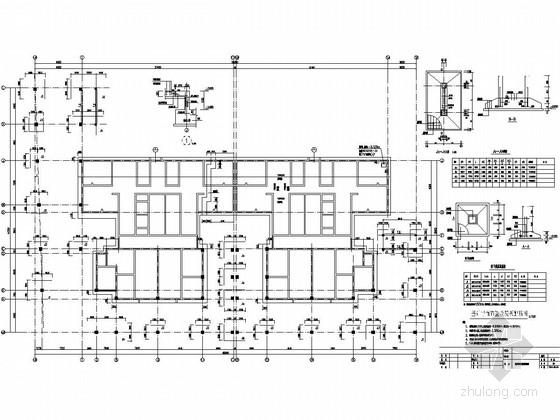 [陕西]27层剪力墙结构商住楼结构施工图