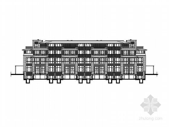 [福建]四层石材外墙住宅建筑施工图(含多套方案)