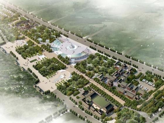 [西安]唐代格局文化广场景观规划设计方案
