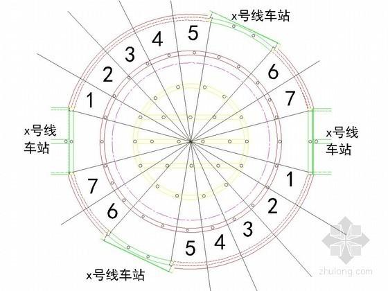 [北京]19米深基坑盖挖逆做法施工方案(圆形基坑 鲁班奖工程)