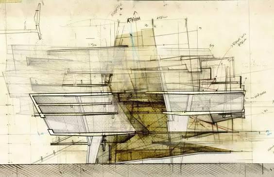 那些霸气的建筑剖面图_25