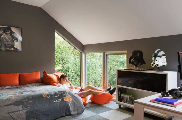 谁说青少年卧室最难设计?呶这里有14个例子_6