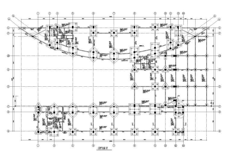 [武汉]7层框架结构办公楼全套施工图(建筑结构水暖电)