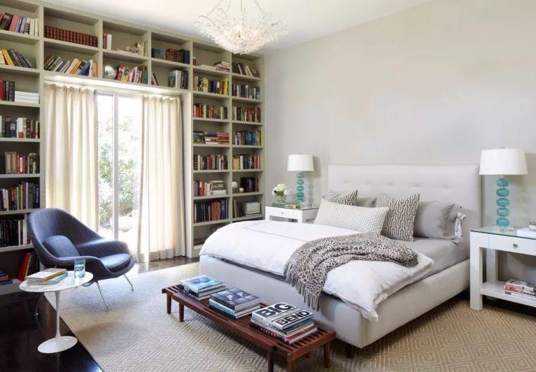 如何在家里挤出一间书房,这4种方案必须收藏!_23
