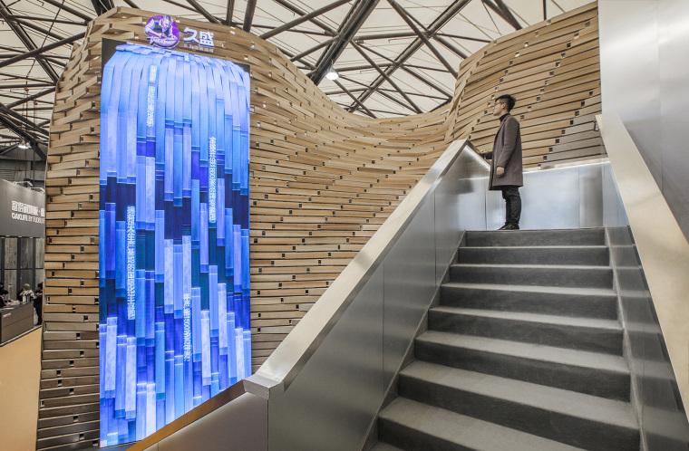 上海久盛木地板主题展厅