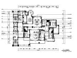 【广东】欧陆风格别墅设计CAD施工图(含效果图)