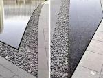 镜面水的做法——石材架空