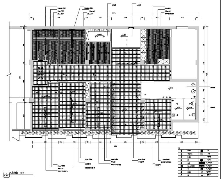 [新疆]竹林自然风茶室空间设计施工图(附效果图)_5