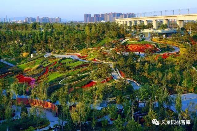 北京锦绣谷绿化景观工程