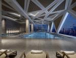 休闲室内泳池3D模型下载