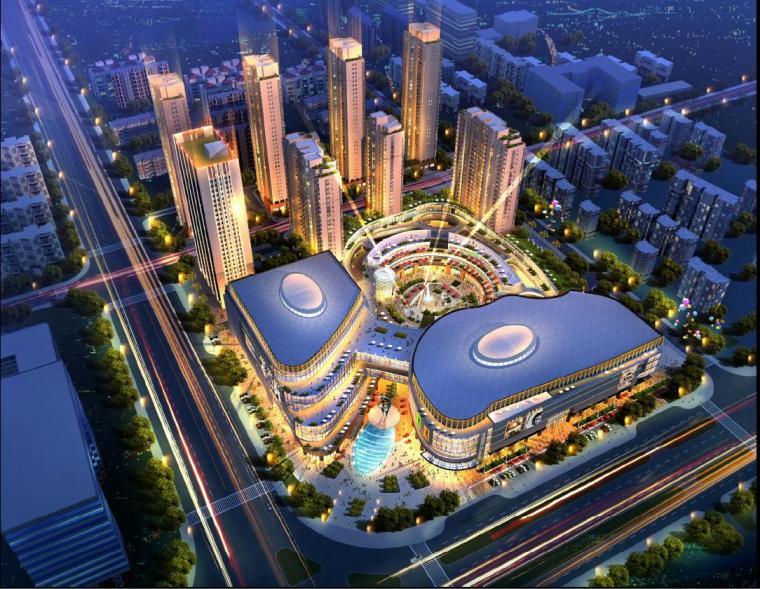 [上海]高层现代城市综合体设计文本(含酒店、办公、商业、住宅)