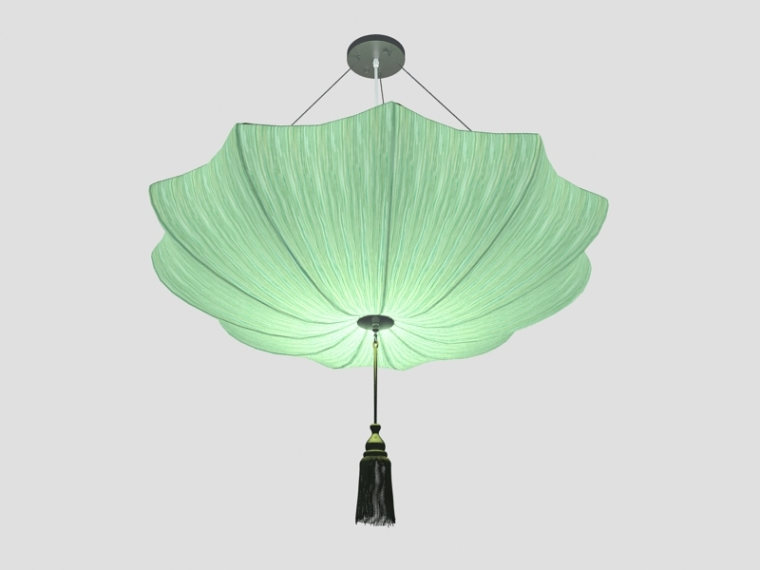 清新漂亮吊灯3D模型下载-清新漂亮吊灯