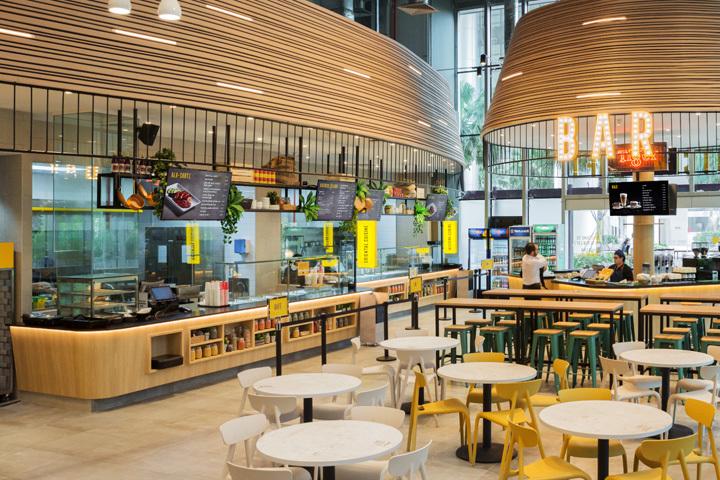 新加坡阁楼厨房餐厅